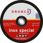 4.5″ x 6mm Dronco Grinding Discs
