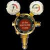 Generic Single Stage 2 Gauge Acetylene Regulator