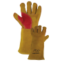 Gold Panther Gloves