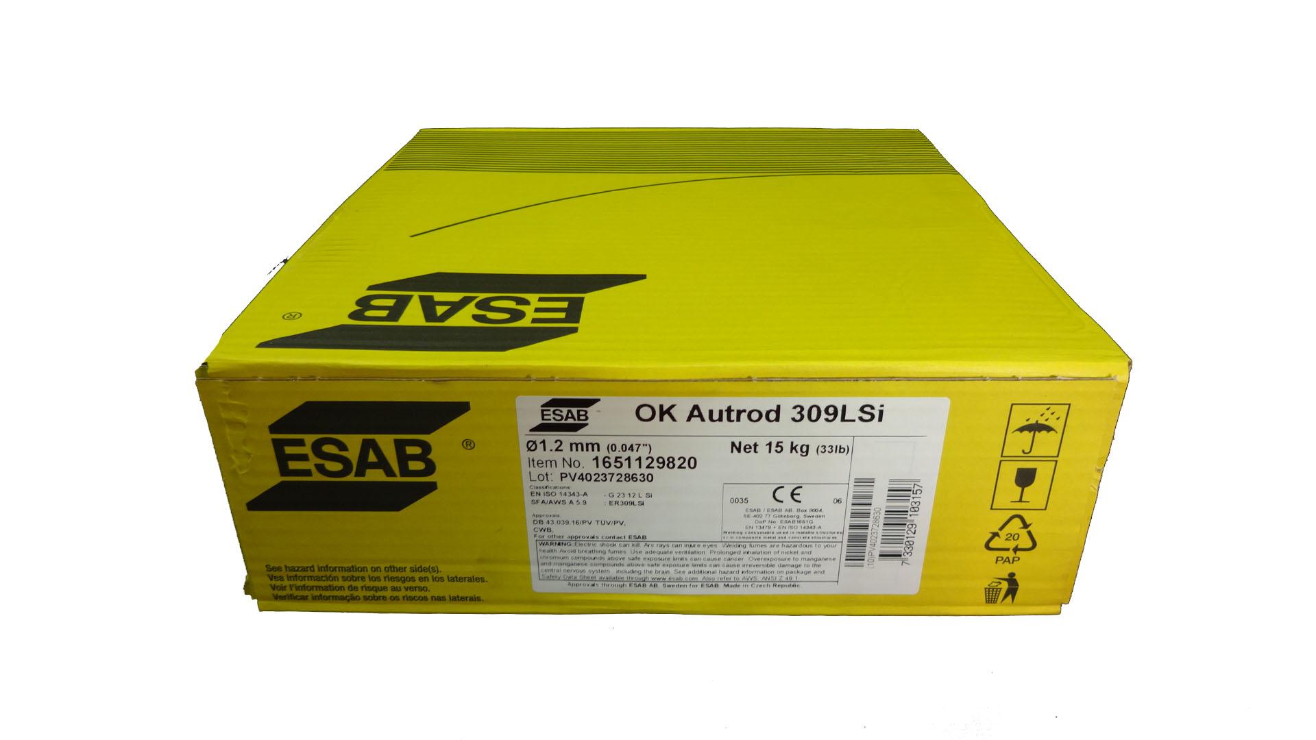 ESAB AUTROD 309LSI 12