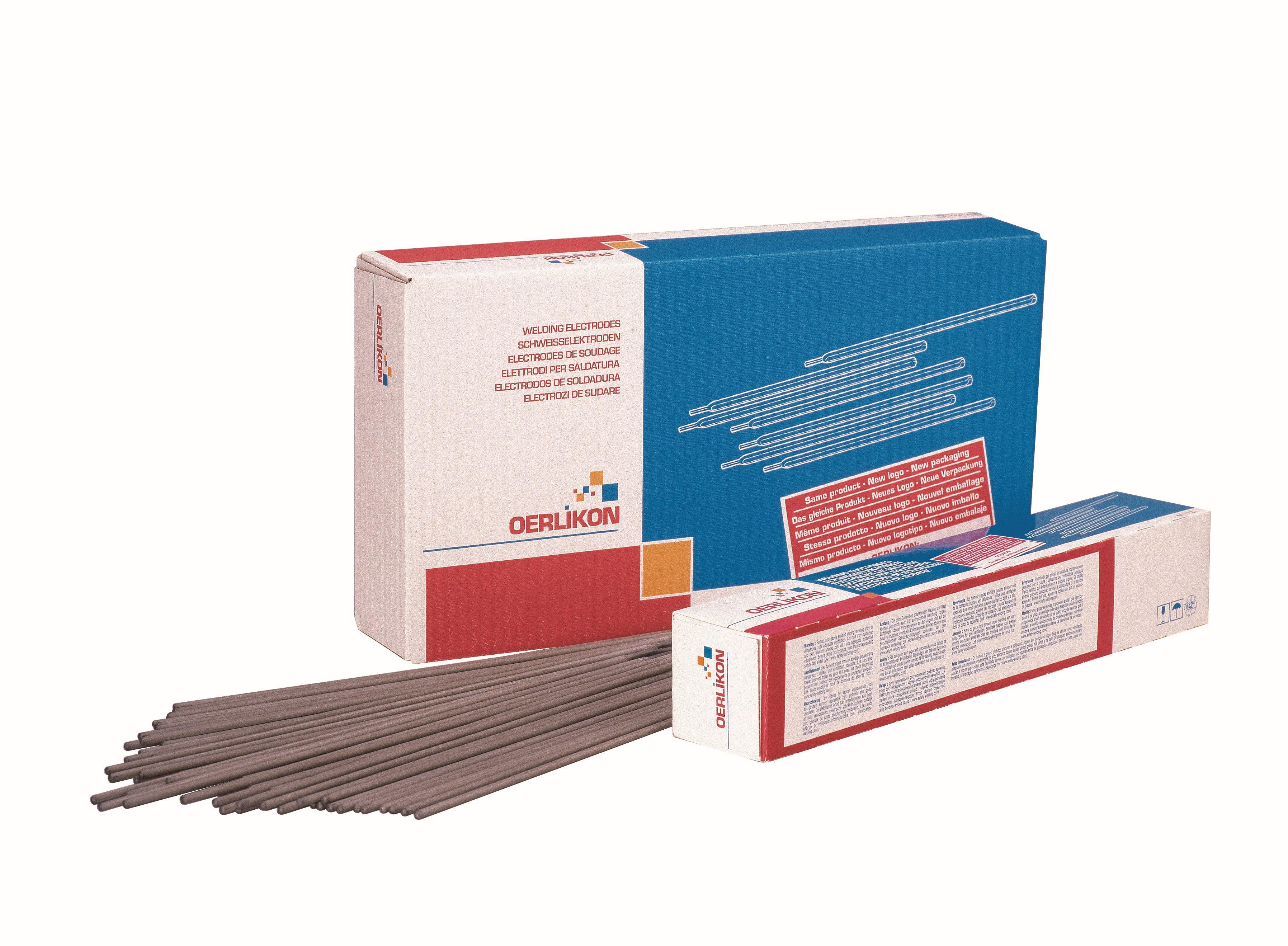 emballage electrodes Oerlikon