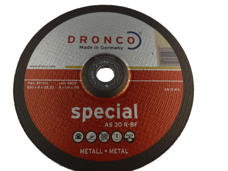 dronco 230×6 disc