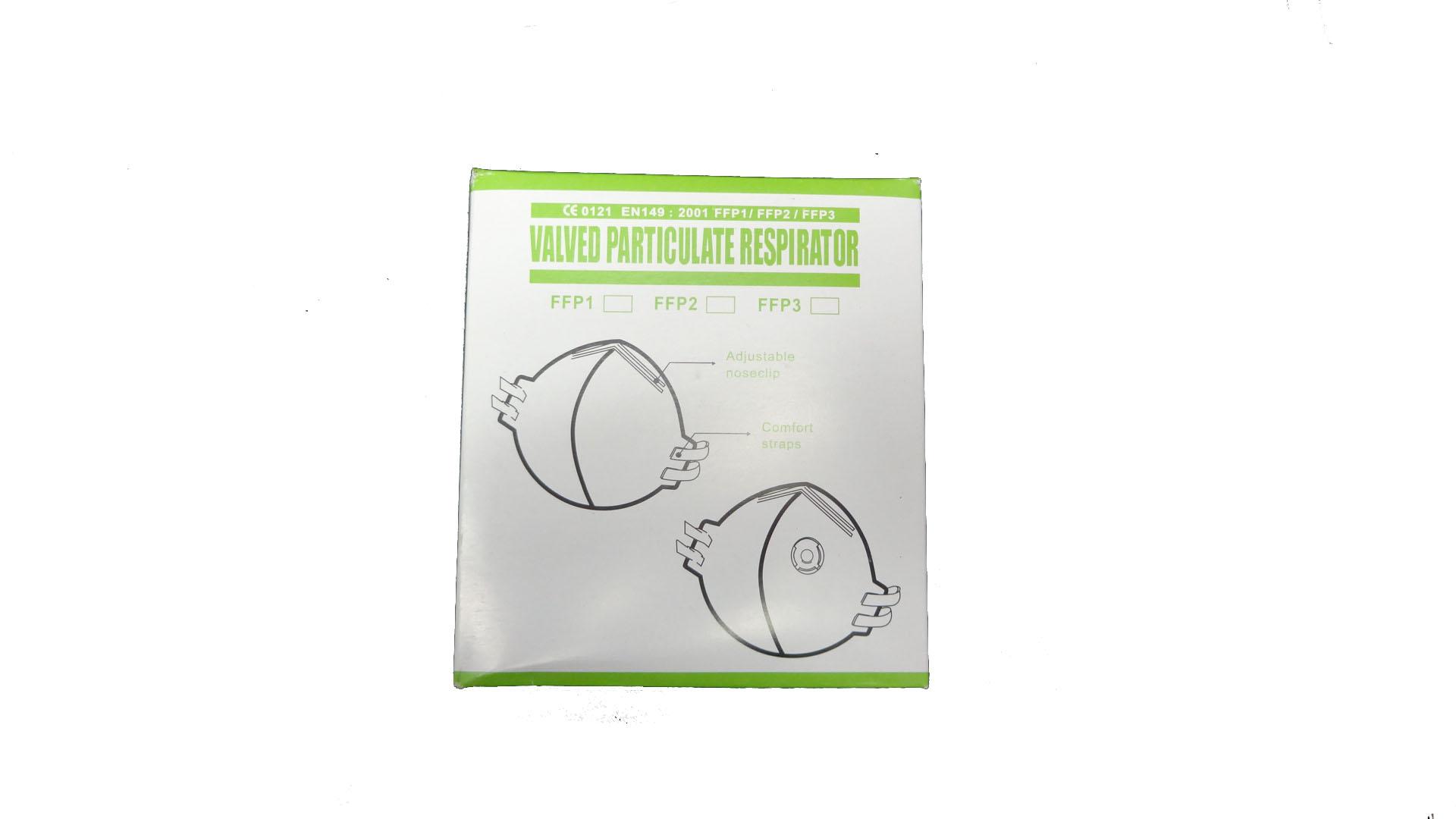 walved particulate respirator