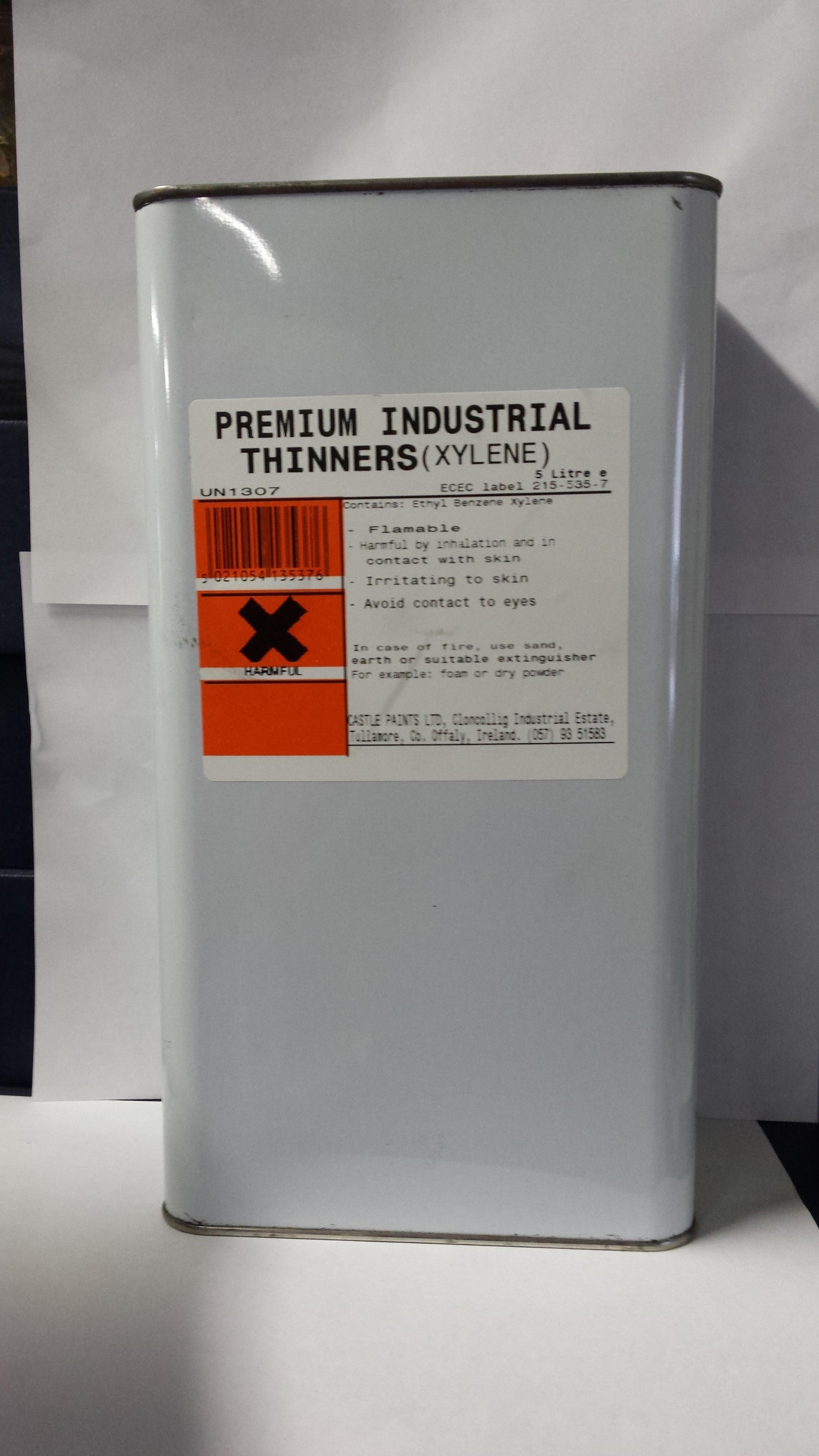 xylene paint thinners gasweld