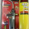 TurboFire Plumbers BlowTorch c/w Mapp Gas