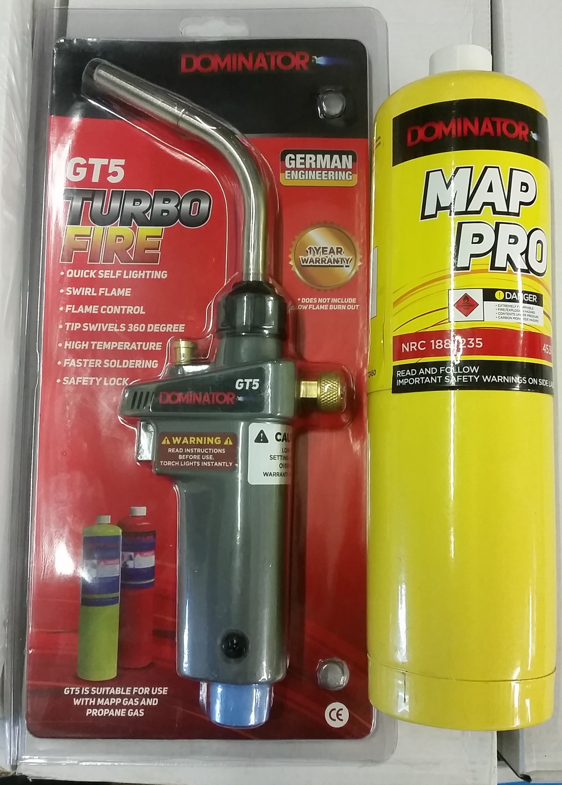 Turbofire Plumbers Blowtorch C W Mapp Gas Gasweld