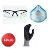 Specs, Dust Masks and Handling Gloves Bundle Deal
